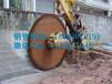 液压岩石锯专业改装300型挖机圆盘锯7200NM动力