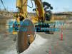 圆盘锯岩石锯挖掘机改装开山锯厂家直销