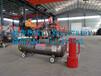 防汛打桩机订制柴油便携式防汛打桩机植桩机