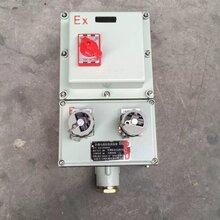 潮州防爆检修插销箱BCX53配电箱生产厂家图片