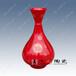 景德镇中国红花瓶收藏价值高