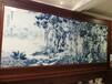 陶瓷壁畫新中式家具裝飾畫定制壁畫廠家