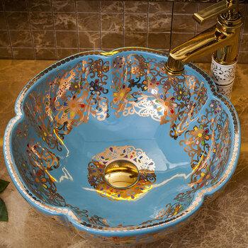 陶瓷臺上盆北歐洗面盆家用洗漱盆