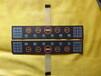 磨砂PVC3M胶定制按键机器面板贴标签彩色不干胶印刷铭牌塑料片