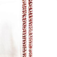 批发节庆茜草彩条pvc防火环保不褪色圣诞装饰品批发厂家直销图片