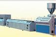 山东供应PVC木塑定型平台塑料粉碎机牵引机