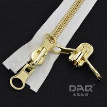 DAQ品牌服裝拉鏈,閉尾金屬服飾拉鏈,5號優質銅拉鏈工廠直銷