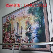 墙体墙面喷绘机户外广告海报彩绘机3D彩雕瓷砖背景墙打印机