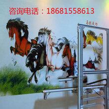 立式墙体彩绘机户内墙面高清精度3D背景墙打印机户外墙面喷绘机