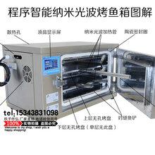 郑州玖子仟弘厂家直销最新智能双面电烤鱼箱,双面电烤鱼两面焦黄,告别传统烤鱼方法。图片