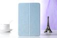工厂直销新款ipadmini2/3超薄保护套豪华蚕丝纹休眠保护壳两折款平板电脑皮套保护套