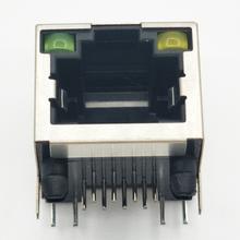 清遠連接器廠家為您測量RJ45防水連接器接口圖片