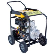3寸柴油水泵带轮子报价图片