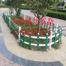 山西吕梁PVC护栏草坪护栏绿化带护栏草坪围栏厂家直销图片
