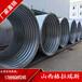西藏钢波纹管生产厂家路基排水钢制波纹管大口径波纹涵管