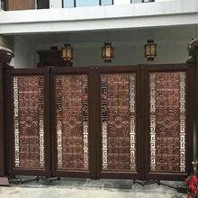 东莞华雅铝艺大门生产厂家、供应优质户内外折叠大门