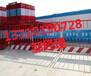 海口建设防护栏杆厂家三亚金属黑黄护栏供应儋州临边围栏热销