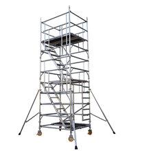 炬晨定制铝合金脚手架铝合金移动脚手架建筑平台图片