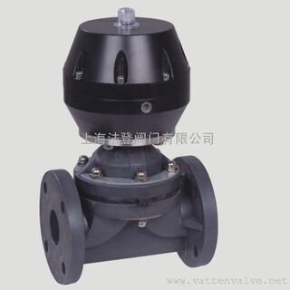 气动PPH塑料隔膜阀图片3