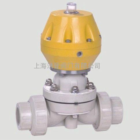 气动PPH塑料隔膜阀