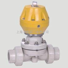 气动PPH塑料隔膜阀图片