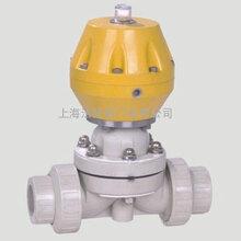 氣動PPH塑料隔膜閥圖片