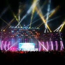 广州铝合金灯光架出租搭建公司广州专业舞台音响舞台灯光租赁