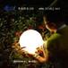 海粒子小圓球燈度假村LED發光圓球別墅防水草坪燈