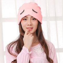 妈妈产后用品微微笑孕妇帽韩版防头风产妇头巾帽月子帽图片