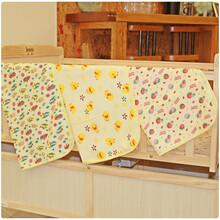 3款图案婴儿防水垫外贸隔尿垫防水床垫6070毛巾料面料宝宝尿垫图片