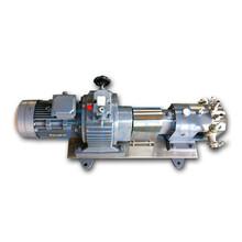 上海宁能油冷却保温式不锈钢转子泵图片