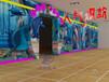 熱賣馬良畫畫水族館,多通道互動投影,地面互動,墻面互動