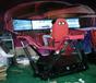 吐鲁番极限三屏赛车VR虚拟现实VR盈利方案VR盈利模式
