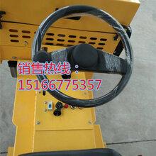 承德座驾式压路机微型震动压地机符合施工标准
