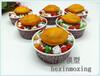 新品定制仿真冰淇淋卷炒酸奶甜品冷飲食品食物模型展示樣品假菜