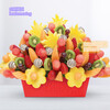 轻款仿真水果道具假苹果葡萄串香蕉模型拍摄仿真蔬菜串装饰品水果