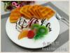 定制漫咖啡松饼华夫饼食物模型定做西餐食品模型仿真食物样品展示