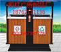 洛阳广告垃圾箱,垃圾桶批发