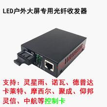 LED显示屏光纤收发器支持灵星雨诺瓦卡莱特ZX-1024WS33/53OC
