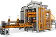 群峰机械免烧砖机QFT5-15全自动砌块成型机