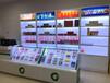 广西玉林商场超市便利店烟柜玻璃连接件