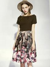 上海麗芮16夏裝品牌服裝批發女裝批發品牌尾貨服裝批發圖片