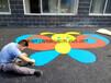 幼儿园丙烯酸EPDM塑胶跑道硅PU运动场地坪漆涂料及施工