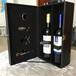 厂家供应定制木制仿古红酒包装盒精装红酒包装盒木盒