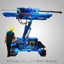 YDL系列电动锚固钻机100mm麻花钻杆锚杆钻机履带式5米升举钻机
