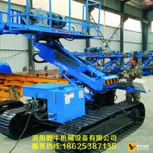 野牛YDL-200H锚固钻机5米高升举护坡履带锚固钻