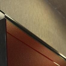 整体厨房橱柜门板定制厨房铝合金隐框门板绮派克玻璃橱柜门板图片