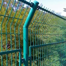 上海优质双边护栏网&圈地铁丝围栏网&铁路围栏网