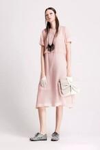 莫名休闲连衣裙专柜低价折扣女装品牌女装批发