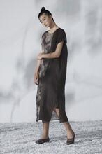 大量休闲连衣裙走份正品专柜品牌折扣女装批发